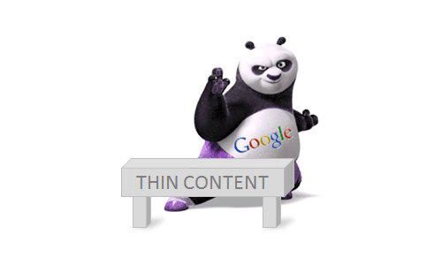 Thin content vs Google