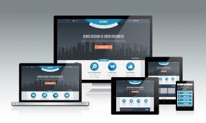 Example of responsive web design in Zimbabwe.